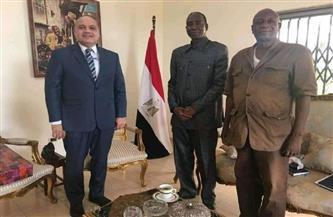 تعزيز التعاون العلمي والأكاديمي بين الجامعات المصرية وجامعة جمال عبد الناصر في غينيا | صور