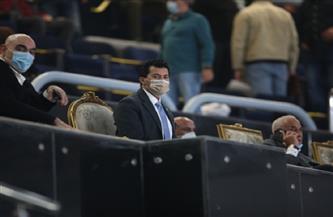 وزير الشباب والرياضة يهنئ منتخب اليد بفوزه على تشيلى