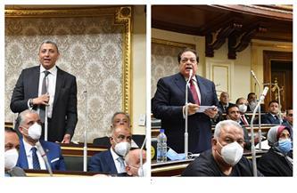 تعرف على السيرة الذاتية لمحمد أبو العينين وأحمد سعدالدين وكيلي مجلس النواب
