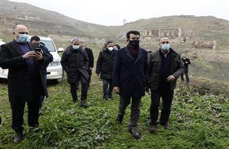المالك: الإيسيسكو ستدعم أذربيجان لإعادة بناء وترميم المواقع التراثية المتضررة في الإقليم |صور