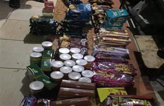 ضبط 242 عبوة و45 لتر أغذية ومشروبات فاسدة بجنوب سيناء| صور