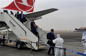 منتخب المغرب يصل القاهرة للمشاركة فى بطولة كأس العالم لكرة اليد