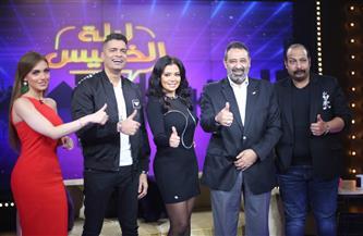 """رانيا يوسف ومحمد ثروت وشاكوش ومجدي عبد الغني في """"ليلة الخميس"""" على """"MBC مصر""""   صور"""