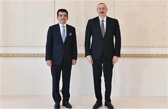 الرئيس الأذربيجاني يشيد بأدوار الإيسيسكو خلال استقباله المدير العام والوفد المرافق | صور