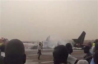 تحطم طائرة عسكرية في السودان بعد إقلاعها من المطار