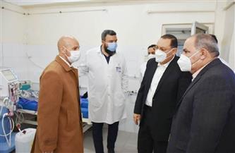 محافظ الشرقية يتفقد مستشفى ديرب نجم المركزي |  صور