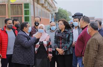 محافظ دمياط تتفقد سوق النيل الحضارى وشارع 51 تمهيدًا لافتتاحهما | صور