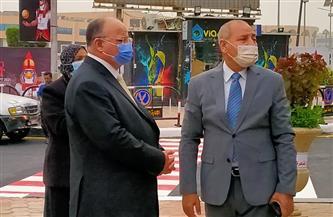 محافظ القاهرة يتفقد محيط الاستاد استعدادا لفعاليات بطولة العالم لكأس اليد