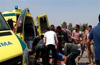 """خروج جميع مصابي حادث طريق """"أسيوط - الخارجة"""" من المستشفى بعد تحسن حالتهم"""