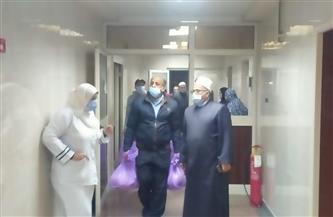 """""""أوقاف دمياط"""": توجيه قوافل الخير لمرضى المستشفيات   صور"""