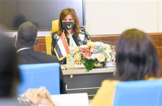 وزيرة الدولة للهجرة تلقى محاضرة لإعلاميي جنوب السودان بالتعاون مع وزارة الدولة للإعلام | صور