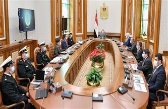 الرئيس السيسي يستقبل رئيس مجلس إدارة شركة لورسن الألمانية العالمية في مجال صناعة السفن والفرقاطات والمدمرات