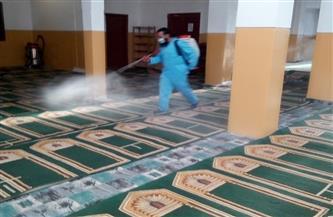 أوقاف مطروح: تطهير وتعقيم 400 مسجد | صور
