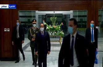 الرئيس السيسي يصل استاد القاهرة لحضور بطولة العالم لكرة اليد