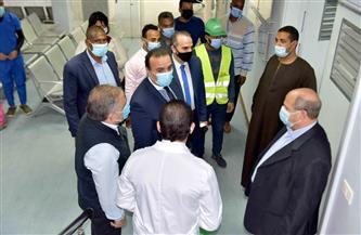 مستشفى حميات الأقصر يستقبل عددًا من الأجهزة الطبية | صور