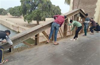 بدء أعمال ترميم وصيانة كوبري محمد علي الأثري بالقناطر الخيرية | صور