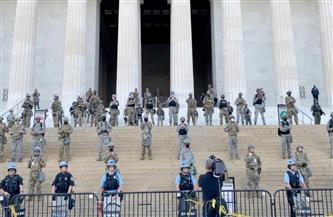 انتشار كبير للحرس الوطني داخل مبنى الكابيتول.. وترامب يطالب أنصاره بتجنب العنف