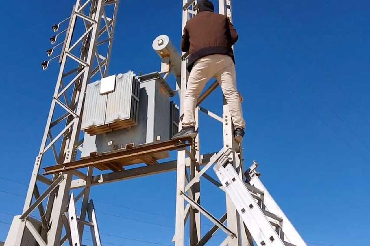 فصل التيار الكهربائي عن قرى كفر شكر لصيانة الأعمدة استعدادًا للشتاء