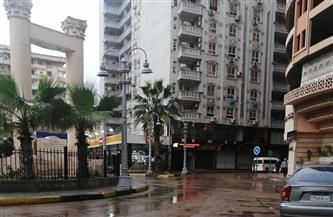 """""""الفيضة الكبرى"""" تضرب الإسكندرية بأمطار غزيرة.. والمحافظة تناشد المواطنين توخي الحذر"""