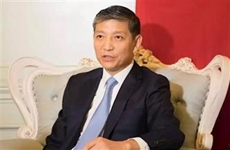 """سفير الصين لـ""""رئيس حزب المؤتمر"""": نتطلع لمزيد من التعاون المثمر مع مصر"""