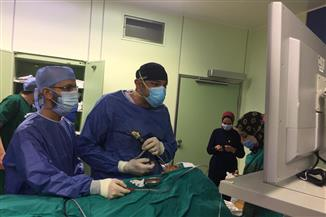 استئصال ورم دموي بقاع الجمجمة بمستشفى جامعة كفرالشيخ | صور