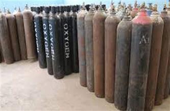 ضبط صاحب مخزن وبحوزته 51 أسطوانة غاز الأكسجين لبيعها بالسوق السوداء بالقليوبية