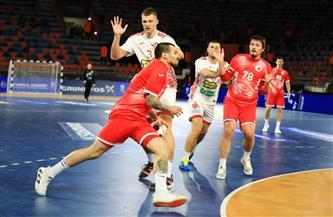 الدب الروسى يتعادل 15-15 مع بيلاروسيا فى الشوط الأول| صور