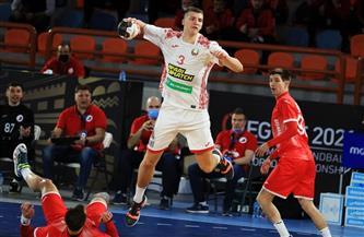كوليش لاعب بيلاروسيا رجل المباراة الافتتاحية بالمجموعة الثامنة