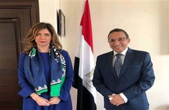 سفير مصر فى ألبانيا يبحث سُبل تعزيز التجارة والاستثمار