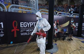 لاعب بيلاروسيا يشيد بالاجراءات الاحترازية ببطولة العالم لليد مصر 2021
