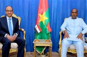 سفير مصر لدى بوركينا فاسو يلتقي وزير الخارجية والتعاون والإندماج الإفريقي|صور