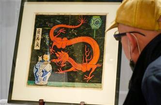 "بيع غلاف لروايات ""تان تان"" بـ 3,175 مليون يورو في مزاد بباريس"