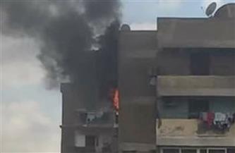 انتداب المعمل الجنائي لمعاينة حريق شقة سكنية بمنطقة شيراتون