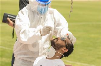 """مسحة طبية للاعبي الأهلي اليوم استعدادًا لمواجهة """"البنك"""""""