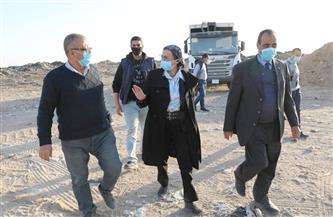 وزيرة البيئة في جولة تفقدية بمواقع التخلص الآمن من المخلفات|صور