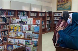 تخصيص قسم للأطفال بمكتبة المترجم بالمركز القومي للترجمة | صور