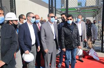 وزير الرياضة يتفقد سيتي كلوب كفر الشيخ ويعطي إشارة البدء للنادي