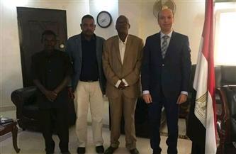قنصل مصر في بورسودان يبحث التعاون الثقافي مع ولاية البحر الأحمر السودانية |صور