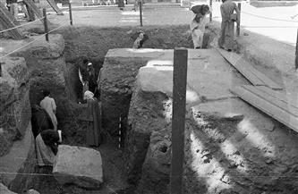 في عيد الأثريين حكايات عمال الحفائر الأثرية لا تنتهي.. قصة دياب تمساح بمعبد الكرنك| صور