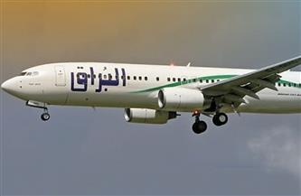 وصول أول رحلة لـشركة البراق الليبية لمطار برج العرب
