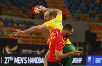 البرازيل تُجبر بطل أوروبا على التعادل في أولى مبارياتهم بمونديال اليد