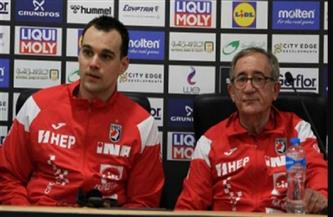 مدرب كرواتيا يشكر مصر على تنظيم بطولة العالم رغم ظروف كورونا