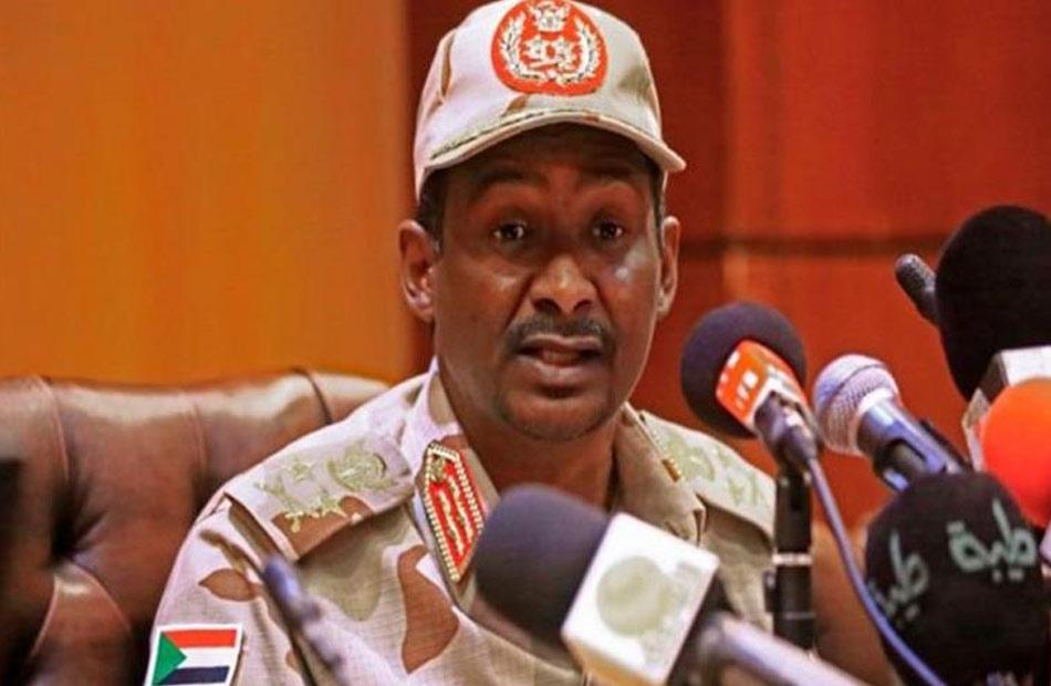 نائب رئيس مجلس السيادة السوداني لا نقبل تهديدنا بالشارع ولا المجتمع الدولي