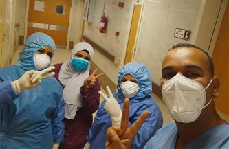 خروج 80 مصابًا بفيروس كورونا بعد تعافيهم من مستشفى الأقصر العام