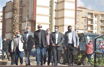 مسئولو «الإسكان» يتفقدون مشروعات مدينتي بدر وحدائق العاصمة