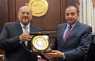 رئيس «الشيوخ» يستقبل رئيس جامعة بني سويف