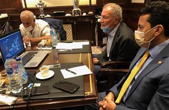 وزيرا الرياضة والصحة يعقدان اجتماعا مع رؤساء الوفود المشاركة لطمأنتهم على الإجراءات الصحية | صور