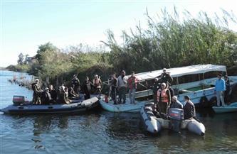 ضبط 14 منشأة صناعية بدون ترخيص و6 محلات جزارة و66 قضية تلوث نهر النيل