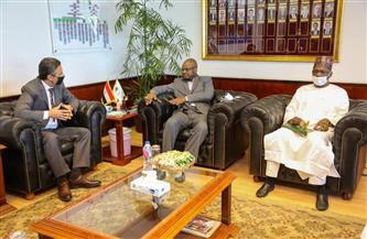 رئيس البريد يستقبل وزير الاتصالات والاقتصاد الرقمي النيجيري | صور