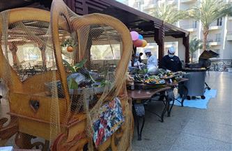"""ضمن مبادرة """"شتي في مصر"""".. فنادق الغردقة تروج للسياحة بمهرجانات الفواكه والأسماك   فيديو وصور"""